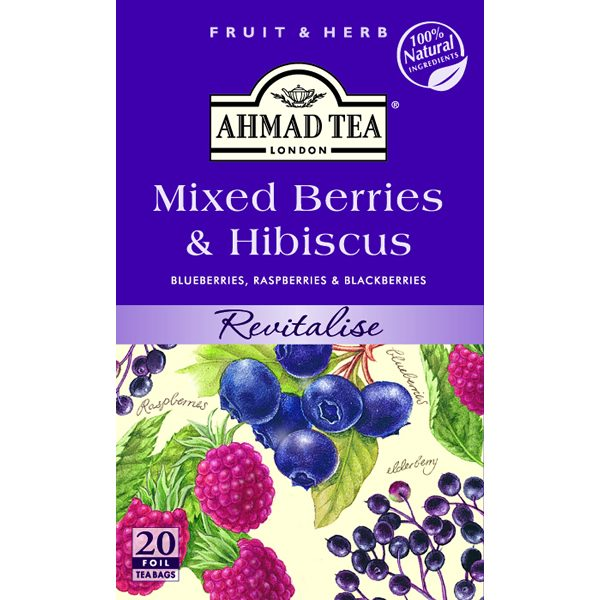 Mixed Berries & Hibiscus 6 x 20