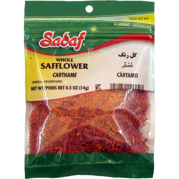 Safflower Spanish Whole 12 x 0.5 oz