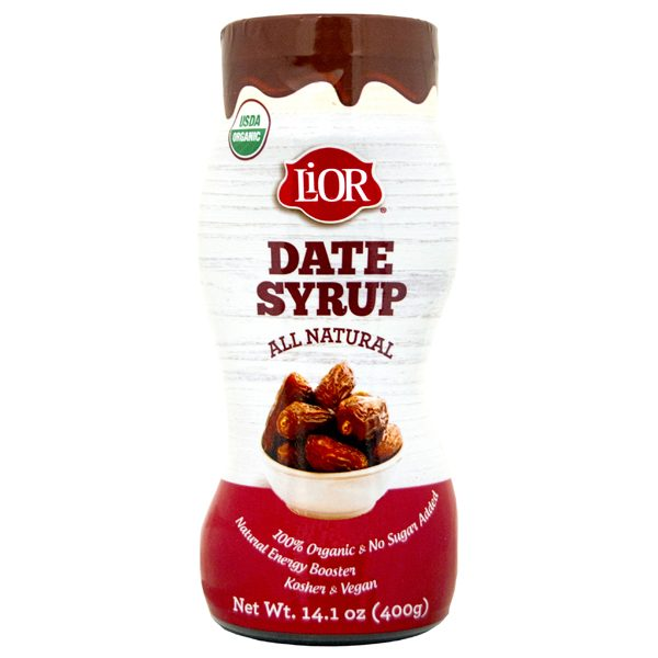 Lior Date Syrup Org 12 x 14.1 oz