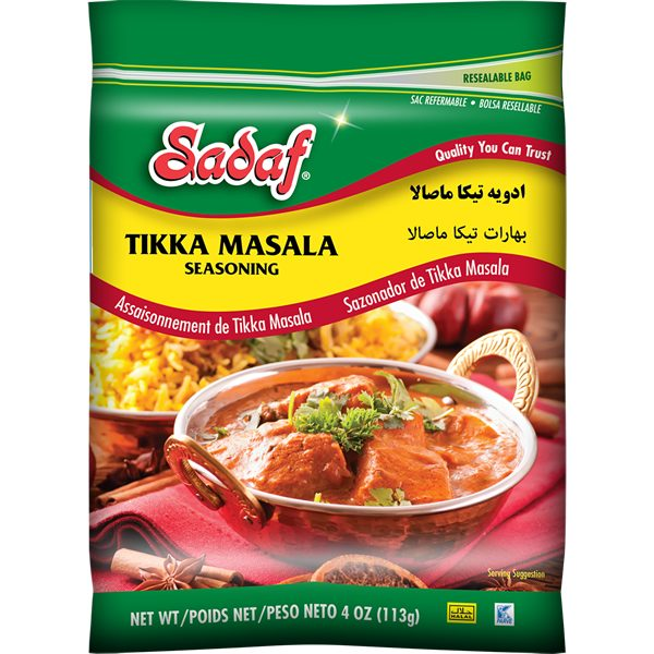 Sadaf Tikka Masala Seasoningh 4 oz